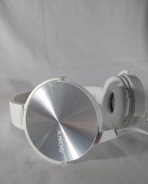 Fone de Ouvido com Microfone Bass MDR-XB450AP Branco Sony