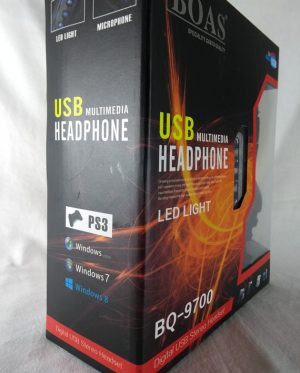 HEADSET BOAS BQ-9700 USB