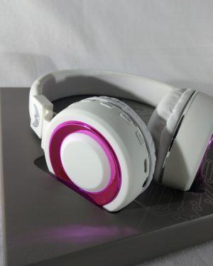 Fone Bluetooth LTomex A-850 BRANCO/ROSA