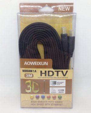 CABO HDMI 3M 4K AOWEIXUN