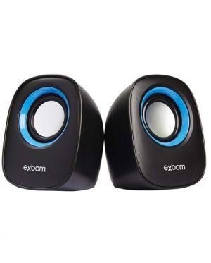 CAIXA DE SOM EXBOM CS-89 USB