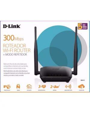ROTEADOR D-LINK DIR-611 300MBPS 2 ANTENAS